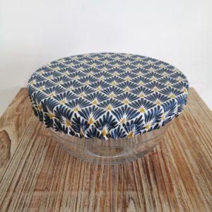 charlotte motif japonais bleu