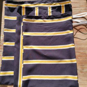 sacs vrac bleu et jaune