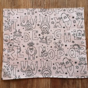 coloriage lavable alphabet