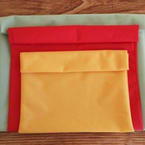 3 taille de sacs congélation lavables