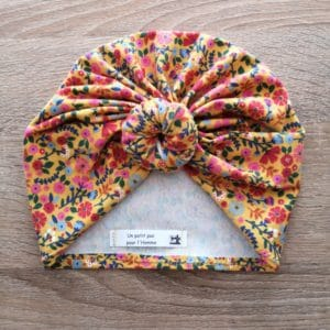 turban liberty jaune